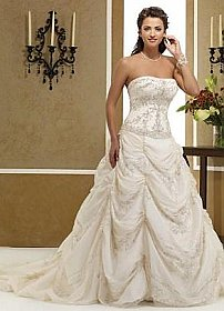 in stock Private Label by G 1302 Wedding Dress Ivory SZ 12