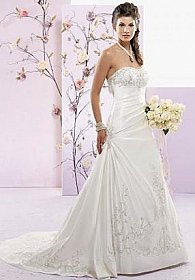 In Stock Private Label 1370 Wedding Dress Sz 14