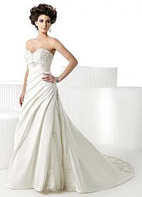 In Stock Private Label by G 1390 Wedding Dress Sz 10