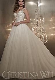 5f6a4aeb32a In Stock Christina Wu 15561 Wedding Dress Sz 16