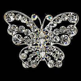 Elegance by Carbonneau Butterfly Brooch 3178