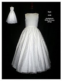 Rosebud Fashions 5108 Flower Girl Dress