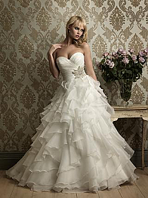 In Stock Allure 8862 Bridal Gown Sz 10