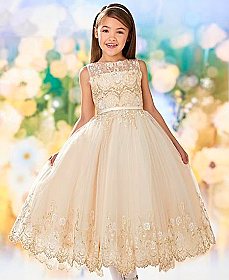 Joan Calabrese 218346 Flower Girl Dress