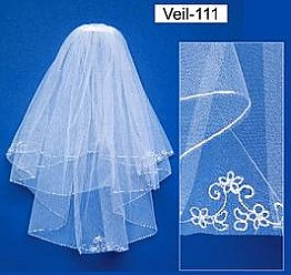 Elegance by Carbonneau Flower Girl or First Communion Veil-111