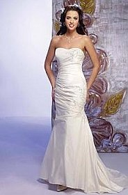 In Stock Private Label by G MA30 Wedding Dress Sz 4