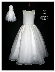 Rosebud Fashions Flowergirl Dress 5105
