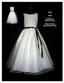 Rosebud Fashions Flowergirl Dress 5109