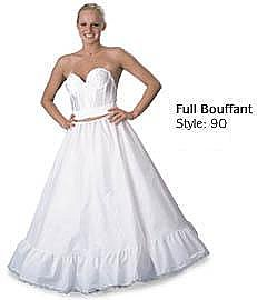 Full Bouffant Draw String Petticoat Style 90