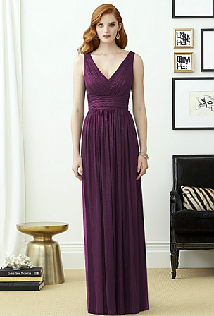 Dessy 2955LS Bridesmaid Dress