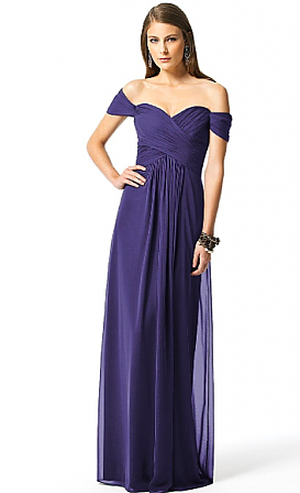 Dessy 2844LS Bridesmaid Dress