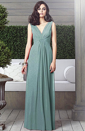 Dessy 2907LS Bridesmaid Dress