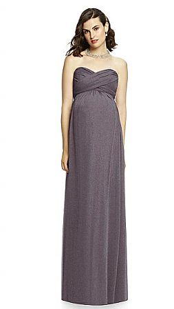 Dessy M426LS Maternity Bridesmaid Dress