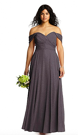 Dessy 2970LS Bridesmaid Dress