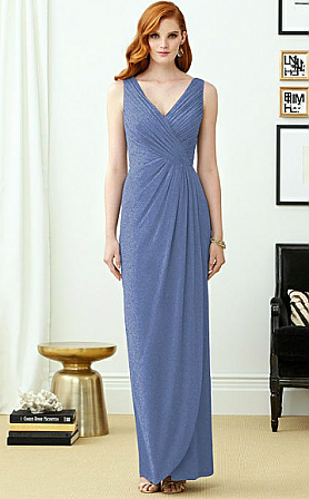 Dessy 2958LS Bridesmaid Dress