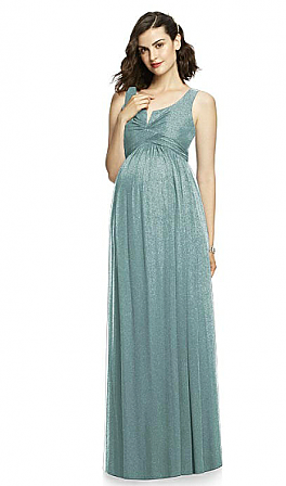After Six M424LS Maternity Bridesmaid Dress