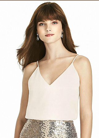 After Six T1507 Bridesmaid Top