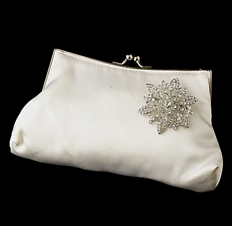 Elegance by Carbonneau Evening Bag 202 with Brooch 36