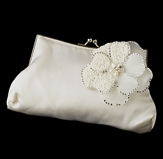 Elegance by Carbonneau Evening Bag 202 with Brooch 41
