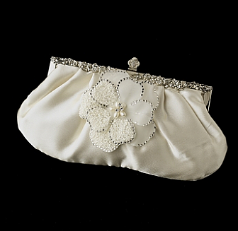 Elegance by Carbonneau Evening Bag 309 with Brooch 41