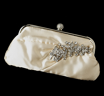 Elegance by Carbonneau Evening Bag 315 with Brooch 18