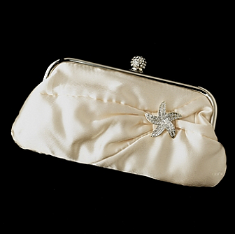 Elegance by Carbonneau Evening Bag 315 with Brooch 3177