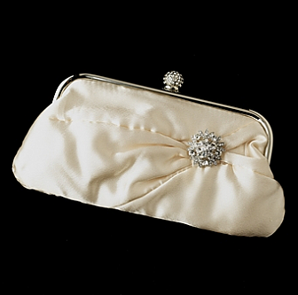 Elegance by Carbonneau Evening Bag 315 with Brooch 85
