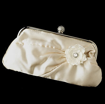 Elegance by Carbonneau Evening Bag 315 with Brooch 443