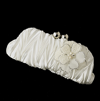 Elegance by Carbonneau Evening Bag 317 with Brooch 41