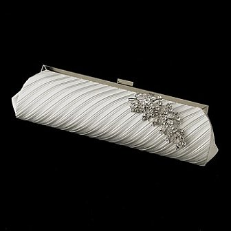 Elegance by Carbonneau Evening Bag 319 with Brooch 18
