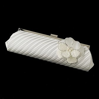 Elegance by Carbonneau Evening Bag 319 with Brooch 41