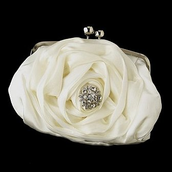 Elegance by Carbonneau Evening Bag 329 with Brooch 85