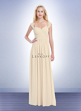 Bill Levkoff 1163 Bridesmaid Dress