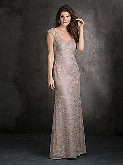 Allure 1409 Bridesmaid Dress