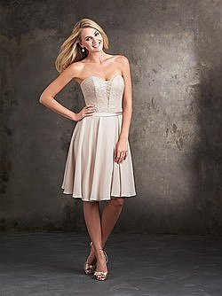 Allure 1424 Bridesmaid Dress