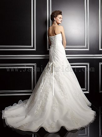 In Stock Jasmine Couture T142060 Wedding Dress Sz 16
