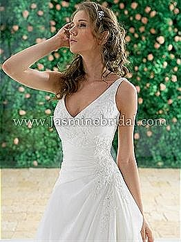 In stock Jasmine Bridal Dress F912 Ivory Size 14
