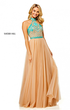 In Stock Sherri Hill 52662 Size 10