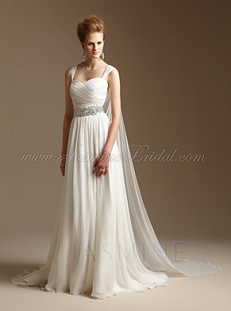 In Stock Jasmine Couture T152018 Wedding Dress Sz 14
