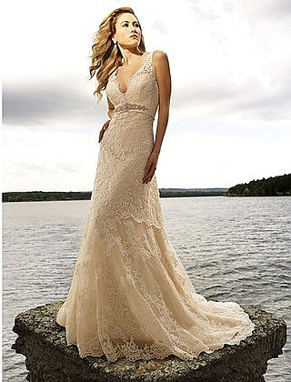 In Stock Allure 8634 Wedding Gown Size 12