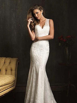 In Stock Allure 9062 Wedding Dress Sz 8